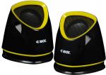 Ibox Speaker set computer IBOX 2.0 MOLDE BLACK IGLH9107B (2.0; black color)