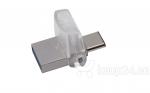 Mälupulk KINGSTON 128GB DT microDuo 3C, USB3.0/3.1 + Type-C flash drive