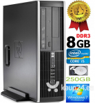 HP Compaq Elite 8100 Intel® Core™ i5-650 8GB 250GB HDD Windows 7 Professional