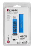Mälupulk Kingston 64GB USB 3.0 DT2000 lukuga
