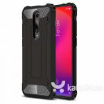 Telefoniümbris Hurtel sobib Xiaomi Mi 9T, Must