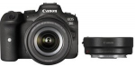 Canon EOS R6 + RF 24-105mm F4-7.1 IS STM + Mount Adapter EF-EOS R Black