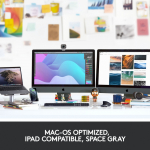 Logitech MX Master 3 for MAC wireless mouse space gray