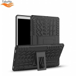 TakeMe Armorlok Tablet PC back case with stand for Samsung Galaxy Tab A 10.1 2019 T515 / T510 Black