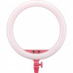 Godox LR150 LED ring light, pink