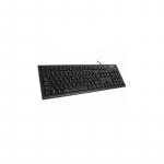 A4Tech klaviatuur KR-83, USB, must EN / LT