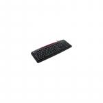 IBOX Jupiteri klaviatuur, PS / 2, must
