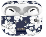 Kingxbar Fresh Airpods Case Protector For Apple AirPods Pro Blue/White